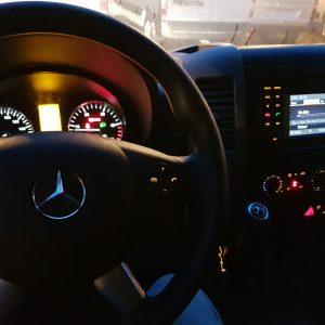 Mercedes Sprinter Standkachel achteraf inbouw set op diesel