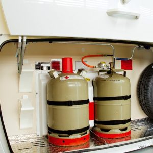 Standkachel op Gas