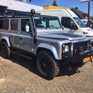 Land Rover Defender standkachel op diesel inbouwset
