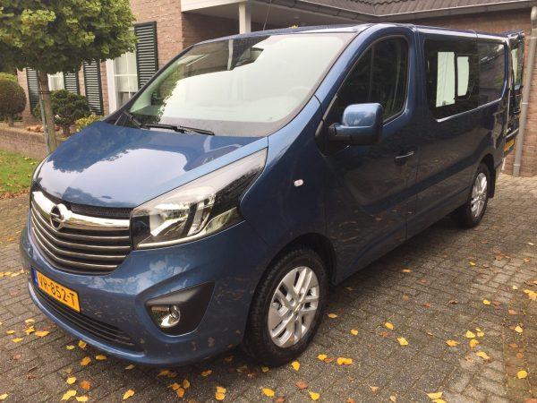 Opel Vivaro standkachel op diesel inbouwset voor achteraf