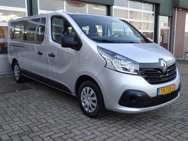 Renault Trafic standkachel op diesel inbouwset voor achteraf