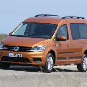 Volkswagen Caddy standkachel op diesel VW inbouwset voor achteraf