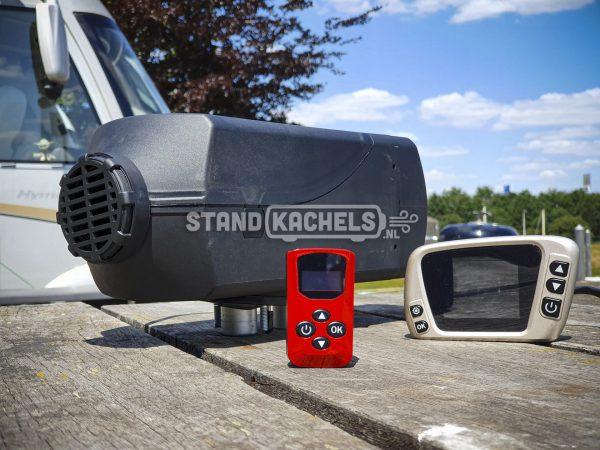 Fiat Talento standkachel op diesel inbouwset voor achteraf