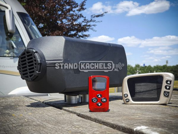 Standkachel Benzine 12V – 5kW complete set