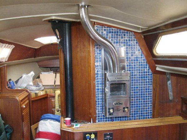 Dickinson Newport P12000 propaan / gas kachel 1.2kW